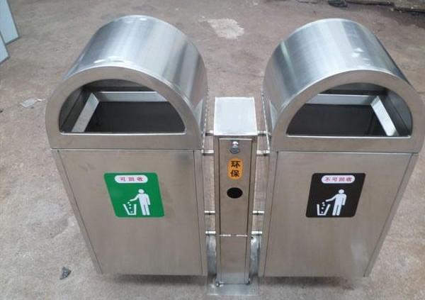 新垃圾桶增加有害物投放口