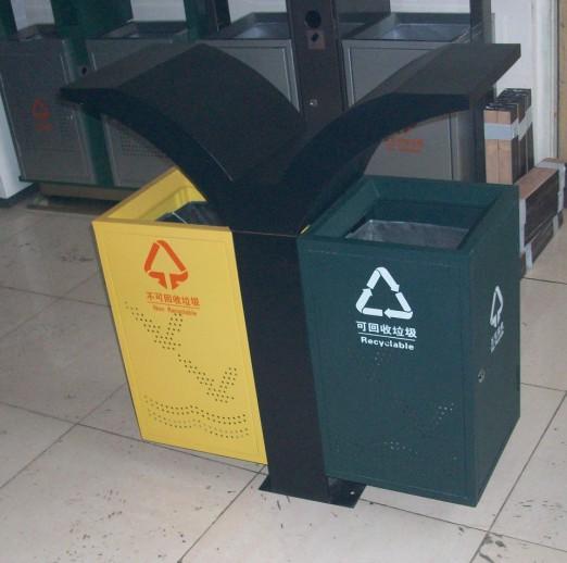 海滩海鸥分类垃圾桶