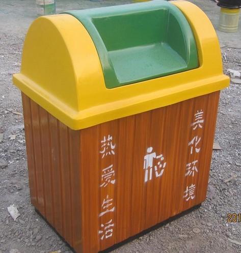 仿木纹垃圾箱 - 垃圾桶_塑料垃圾桶_垃圾箱_分类垃圾